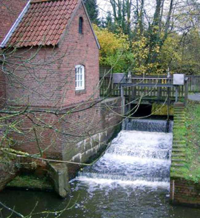 Fischtreppe Delme Hasbergen